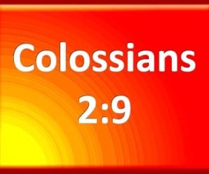 colossians 2:9