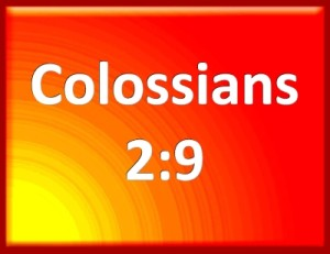 colossians 2:9