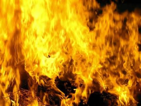 angels spirits flames of fire