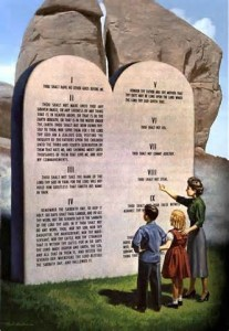 law of god ten commandments