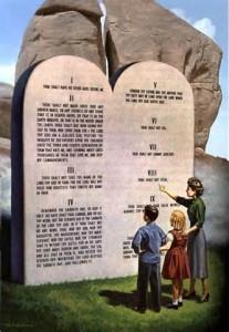 law of god ten commandments