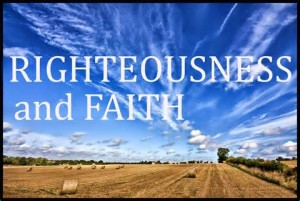 righteounsness by faith