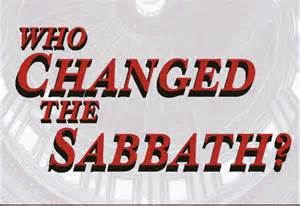 who changed the sabbath