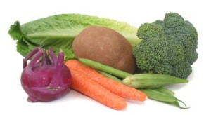 original diet vegetables of fruit