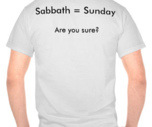 sunday sabbath