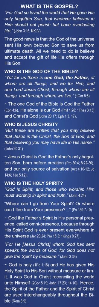 Gospel Bookmark