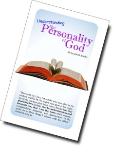 Personality of God - Color Cover-900