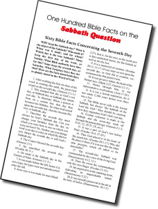 100 Facts About the Sabbath